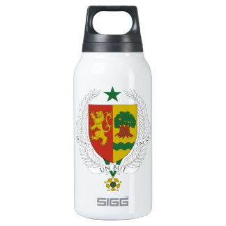 Senegal Coat of Arms Thermos Bottle