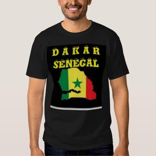 SENEGAL (DAKAR)  MAP T-SHIRT AND ETC