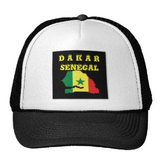SENEGAL (DAKAR)  MAP T-SHIRT AND ETC HATS