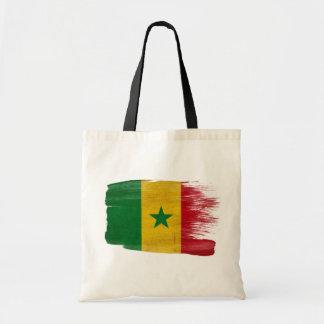 Senegal Flag Canvas Bags