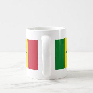 Senegal flag coffee mug