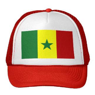 Senegal Flag Mesh Hats