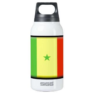 Senegal Flag Insulated Water Bottle