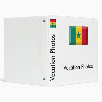 Senegal Flag Jewel Binders