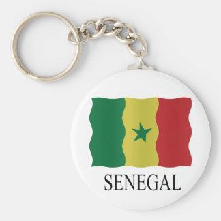 Senegal flag key chains