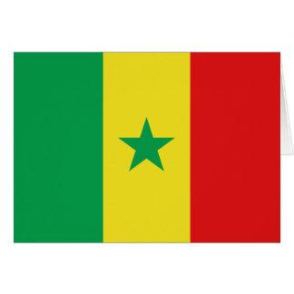 Senegal Flag Notecard