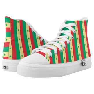 Senegal Flag -.png High-Top Sneakers
