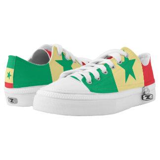 Senegal Flag -.png Low-Top Sneakers