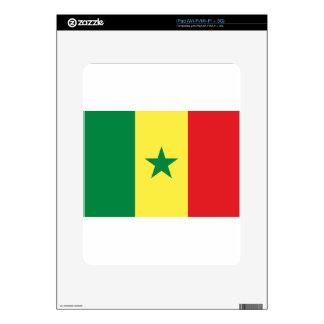 Senegal Flag Skins For The iPad