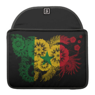 Senegal Flag Sleeve For MacBook Pro