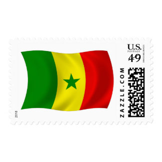 Senegal Flag Stamps