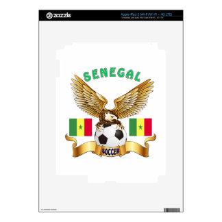 Senegal Football Designs Skins For iPad 3
