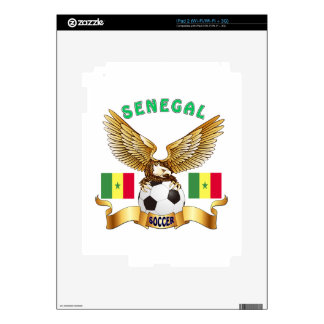 Senegal Football Designs Decals For The iPad 2