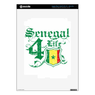 Senegal for life skins for iPad 3