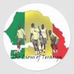 Senegal Futbol Sticker