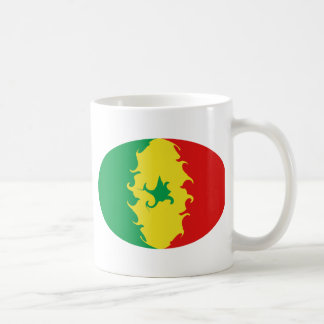 Senegal Gnarly Flag Mug