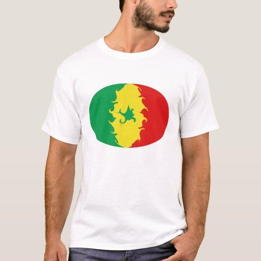 Senegal Gnarly Flag T-Shirt