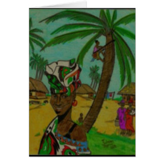 Senegal Greeting Card