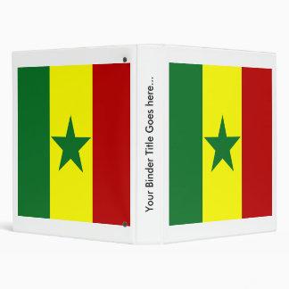 Senegal High quality Flag Vinyl Binder