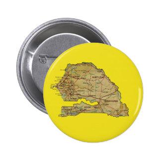 Senegal Map Button