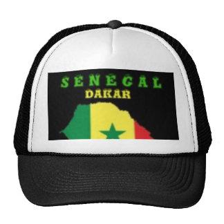 SENEGAL MAP T-SHIRT AND ETC TRUCKER HAT