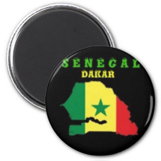 SENEGAL MAP T-SHIRT AND ETC MAGNETS
