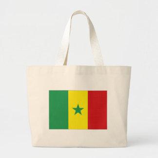 Senegal National Flag Canvas Bags