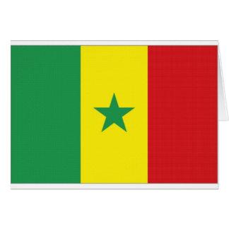 Senegal National Flag Cards