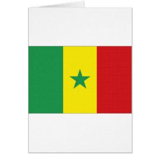 Senegal National Flag Greeting Cards