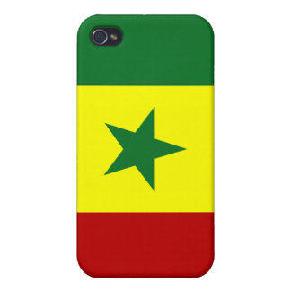 Senegal National Flag iPhone 4/4S Cases