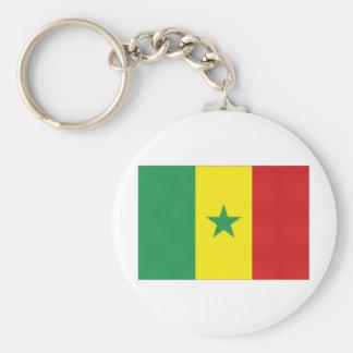 Senegal National Flag Keychains