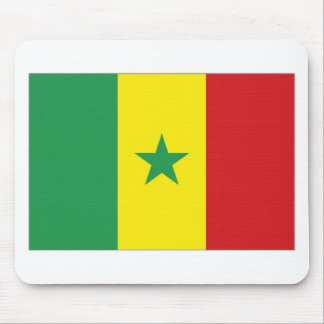 Senegal National Flag Mouse Pads