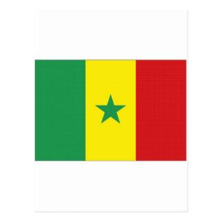 Senegal National Flag Post Cards