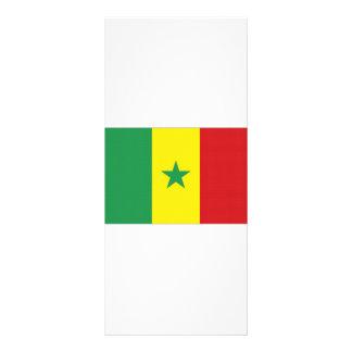 Senegal National Flag Rack Card Template