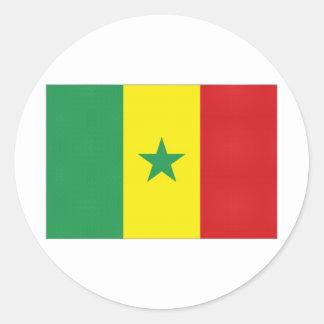Senegal National Flag Sticker