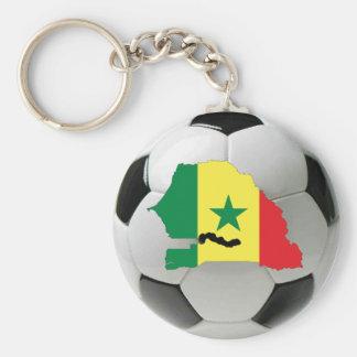 Senegal national team basic round button keychain