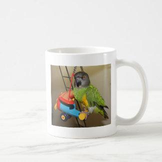 Senegal on plane Lg poster.jpg Coffee Mug
