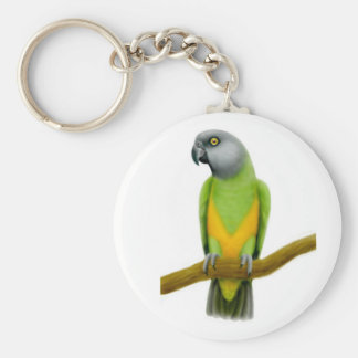 Senegal Parrot Keychain