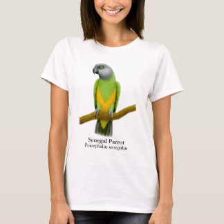 Senegal Parrot Ladies Babydoll T-Shirt