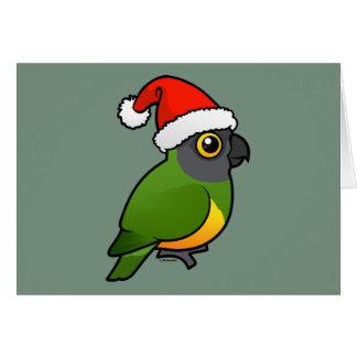 Senegal Santa Greeting Card