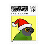 Senegal Santa Stamp