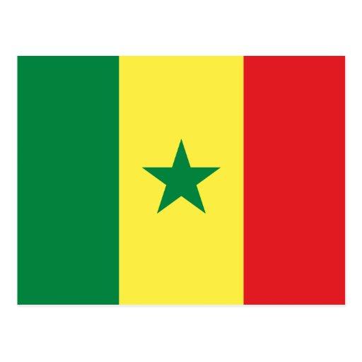 Senegal, Saudi Arabia Postcard