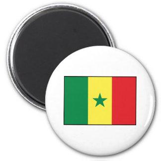 Senegal – Senegalese Flag Fridge Magnet