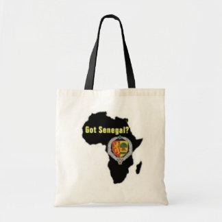 SENEGAL / SENEGALESE FLAG  T-SHIRT AND ETC BUDGET TOTE BAG