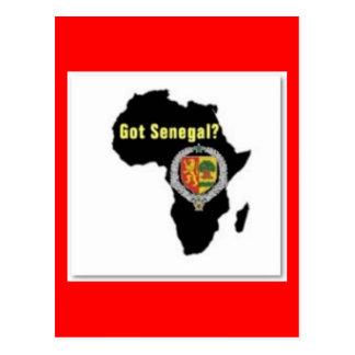 SENEGAL / SENEGALESE FLAG  T-SHIRT AND ETC POST CARD