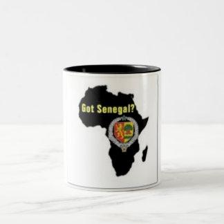 SENEGAL / SENEGALESE FLAG  T-SHIRT AND ETC Two-Tone COFFEE MUG