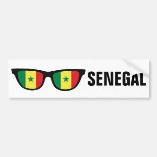 Senegal Shades custom bumpersticker Car Bumper Sticker
