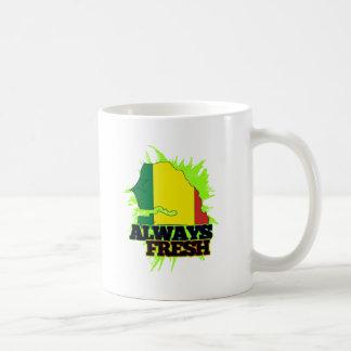 Senegal siempre fresco taza de café