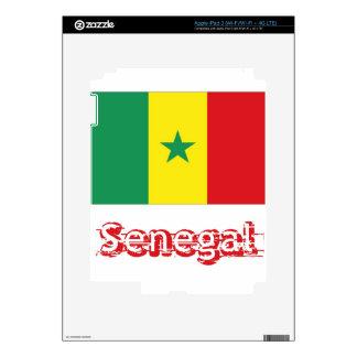 Senegal iPad 3 Decals