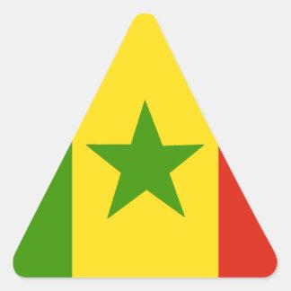 Senegal Triangle Sticker